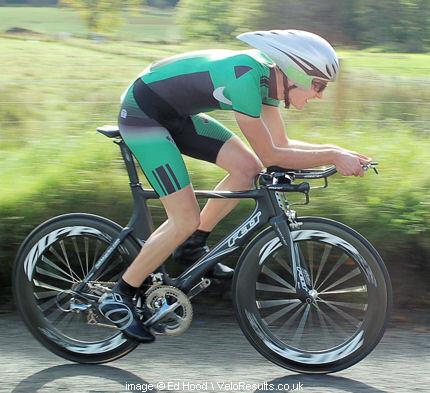 Alister racing in last autumns Tour des Trossachs.