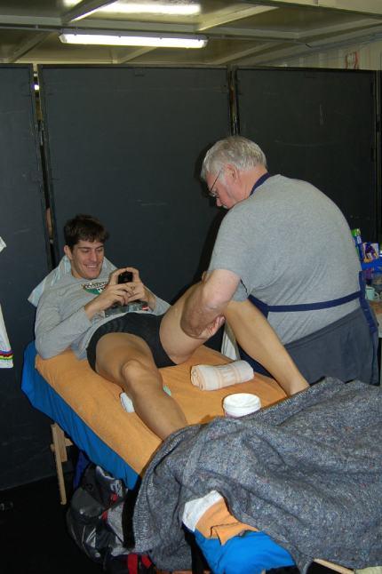 Franco has his 'bad legs' sorted by Kris.