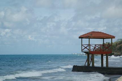 Lifeguard post.
