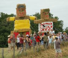 A bit too much like the Wicker Man for us.