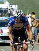 Jurgen Van De Walle on his last legs.