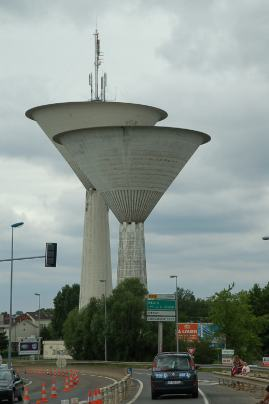 Unusual French utility buildings.