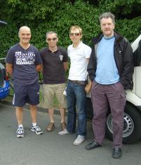 Grass King Hardie, Super Vet (retired) McGregor, Dan the Man, Ivan.