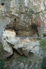 Don Pelayo's cave was later turned into a chapel.