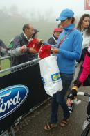 Freebies galore for the brave souls at the top of the mountain.