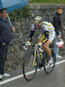 Albasini first over the summit.