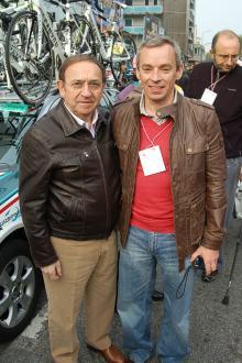 Callum and Ernesto Colnago.