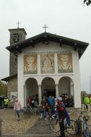 Many fans make a pilgrimage each year to the Ghisallo chapel.