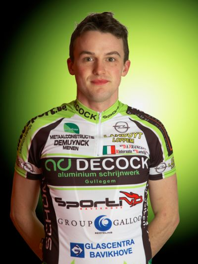 Peter's Hero Card from Decock-Sportivo.
