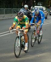 The long break by Brazilian Manarelli and Italian Leonardi.