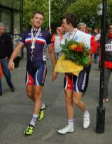 Two of the French youngsters made the podium.