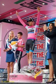 Well done to Ryder, another day in pink.