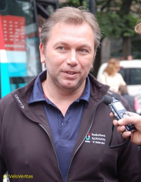 Bruyneel isn't having a great time of it just now.