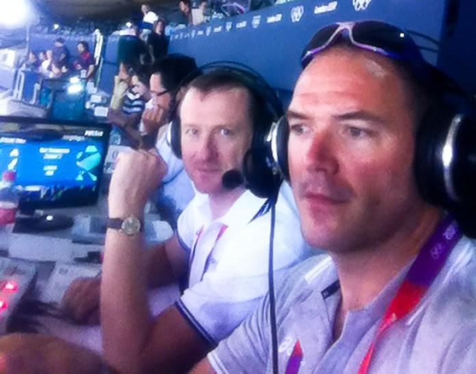 Tony Gibb Eurosport Commentator