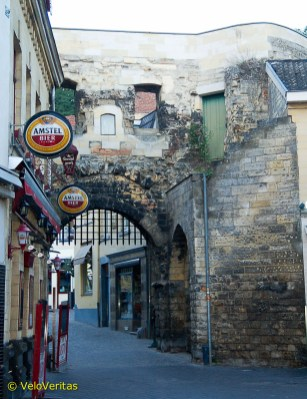 History sits beside hedonism in Valkenburg where the consumption of beer is heading towards Gent Six Day levels.