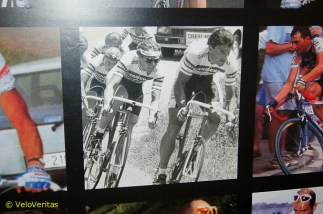 And there was a nice pic of Italian kilometre rider turned roadman/madman big Guido Bontempi leading the Carrera team, 'back in the day.'