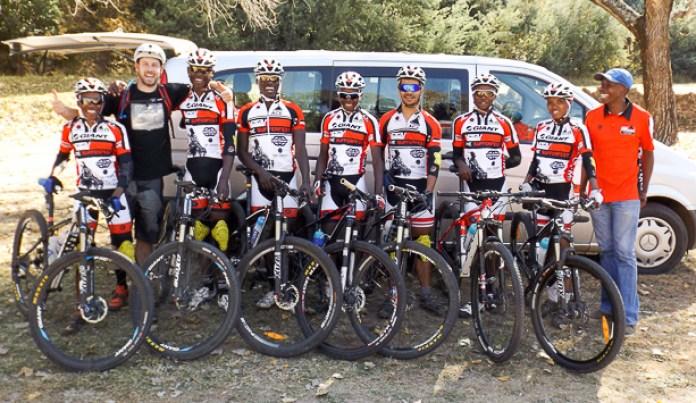 Mark West MTB Lesotho