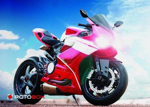 Panigale with Rotobox Convex Wheels