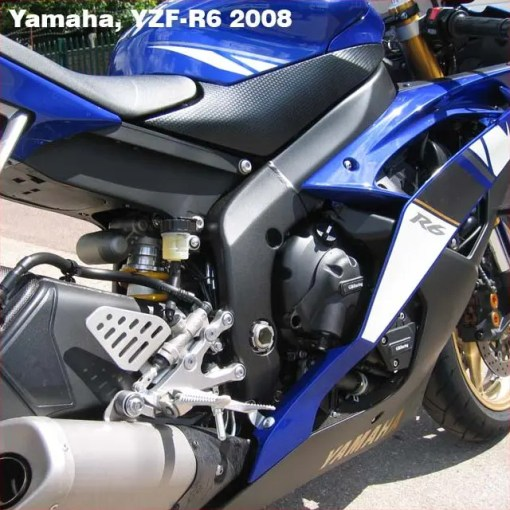 EC-R6-2008-3-GBR YZF-R6 PULSE / TIMING COVER 2006 - 2016