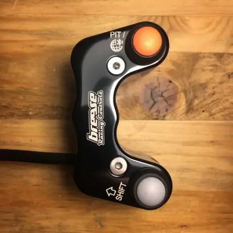 Aprilia RSV4 '17, 5 Button Race Handlebar Switch Assembly, Plug and Play