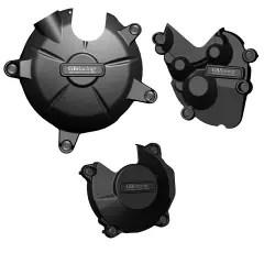 ZX-6R STOCK & KIT Engine Cover Set 2009 - 2012 EC-ZX6-2009-SET-GBR