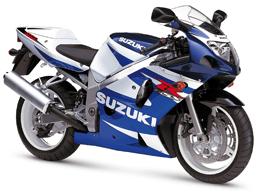 GSXR600 / GSXR750 2001 - 2003