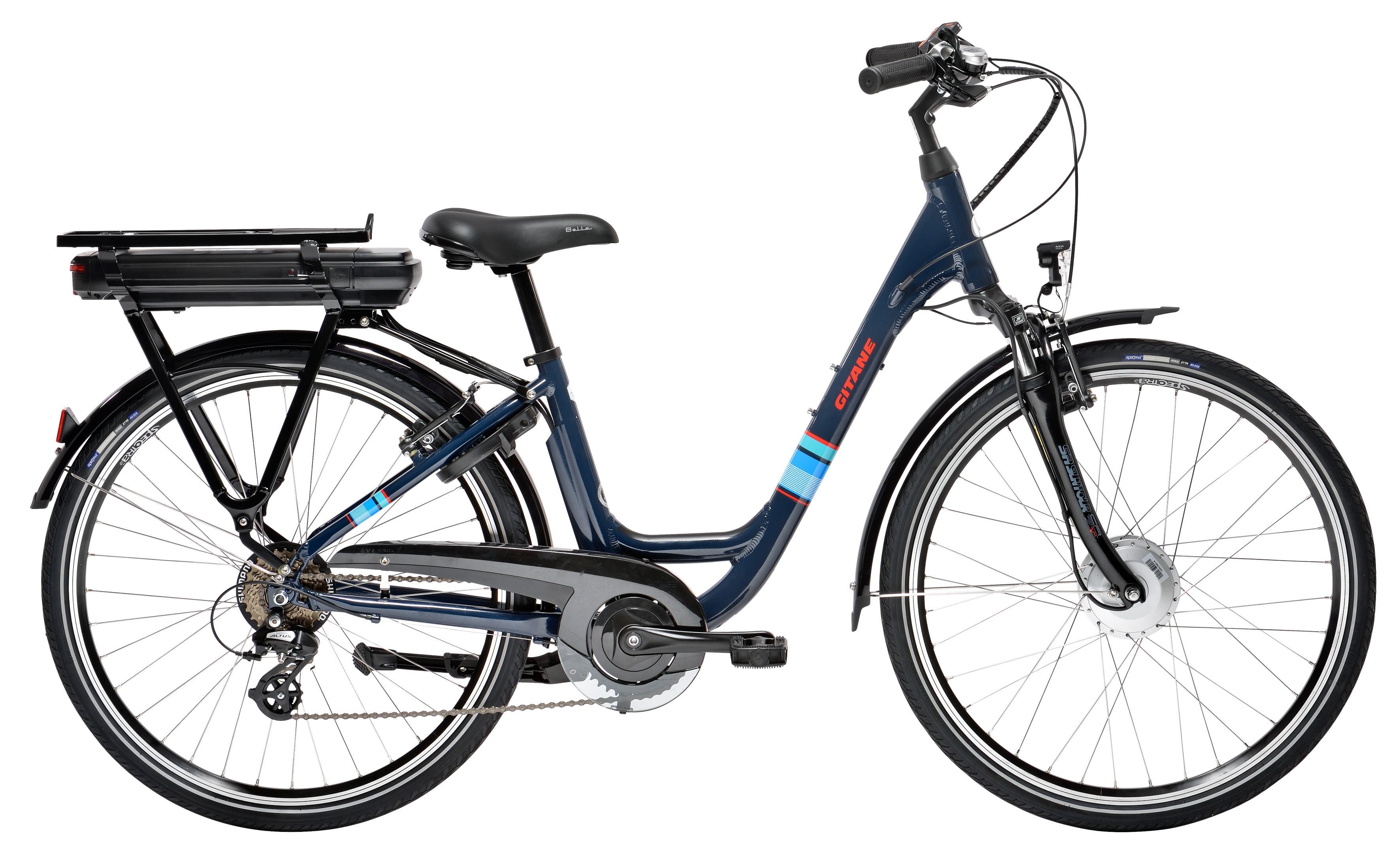 VÉLO ÉLECTRIQUE VILLE GITANE ORGAN e-Bike XS 26\\