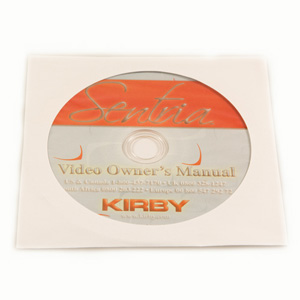 Kirby gebruiksaanwijzing Sentria 1