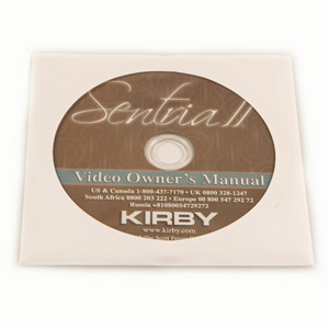 Kirby gebruiksaanwijzing Sentria 2
