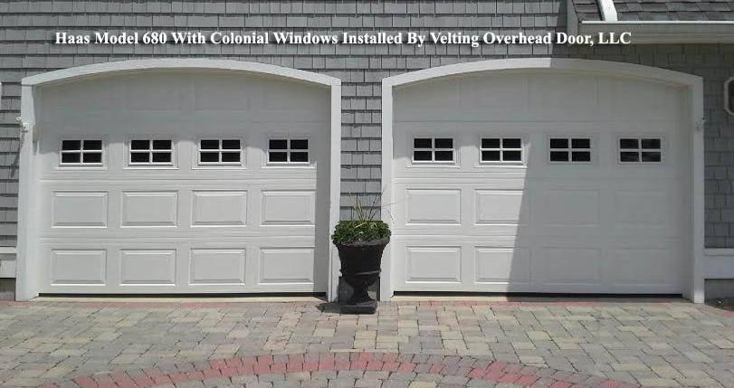 Haas Garage Doors 600 Series Model 680 Insulated