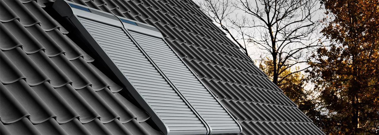 VELUX Dachfenster Rolladen  Ihr RundumSchutz frs ganze Jahr