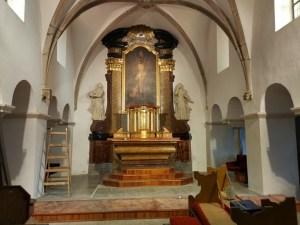 Oltář kostela sv. Maří Magdaleny
