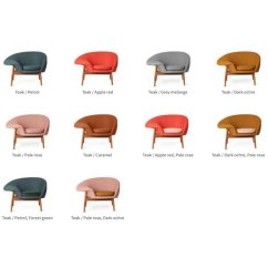 Fried Egg Chair Oztrail Accessories Velvet Point Armchairs Easy Chairs Lounge Designed By H Olsen Solid Teak