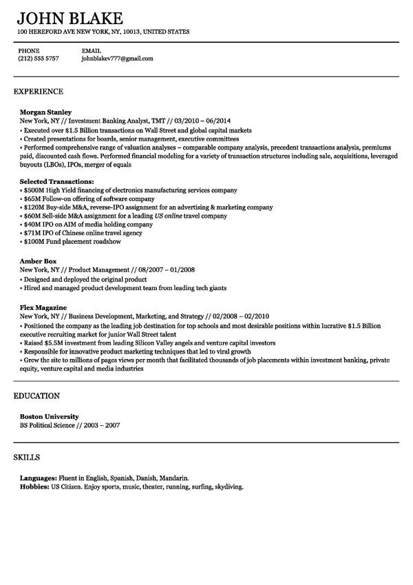 google resume search free