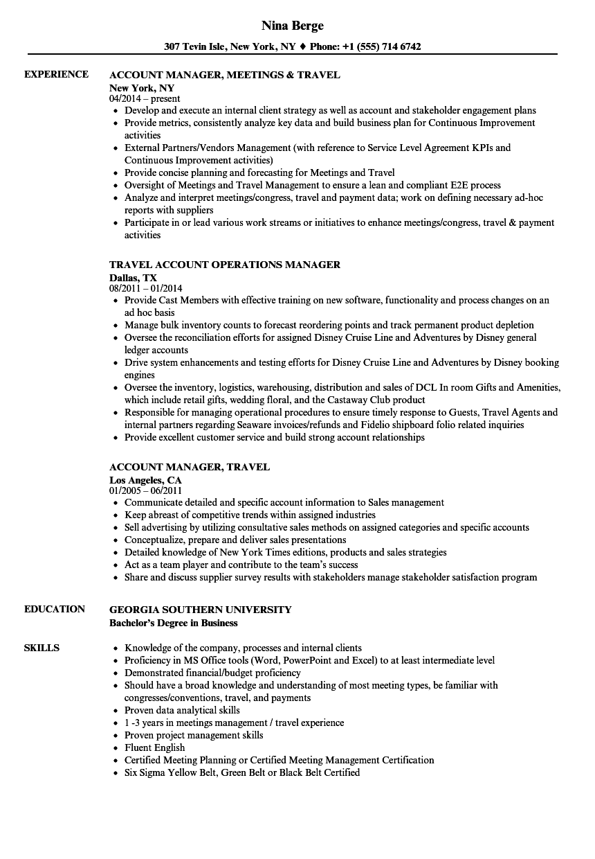 Detailed Resume Examples - Examples of Resumes