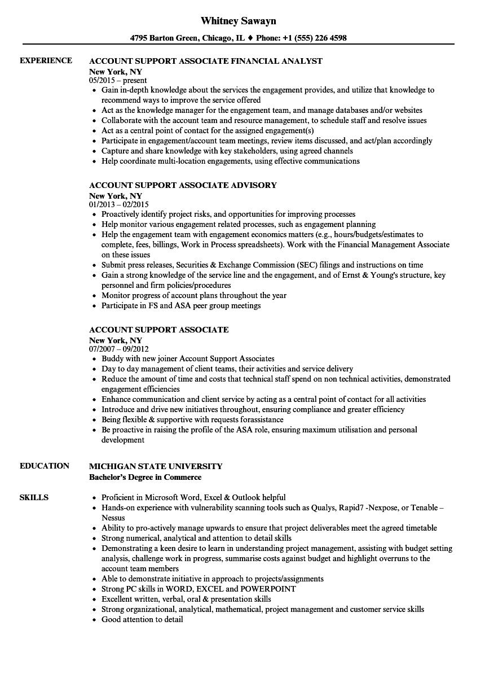 credit process associate resume sample