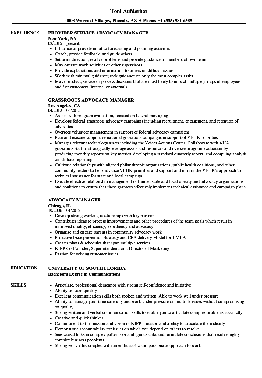 sample resume legal manager