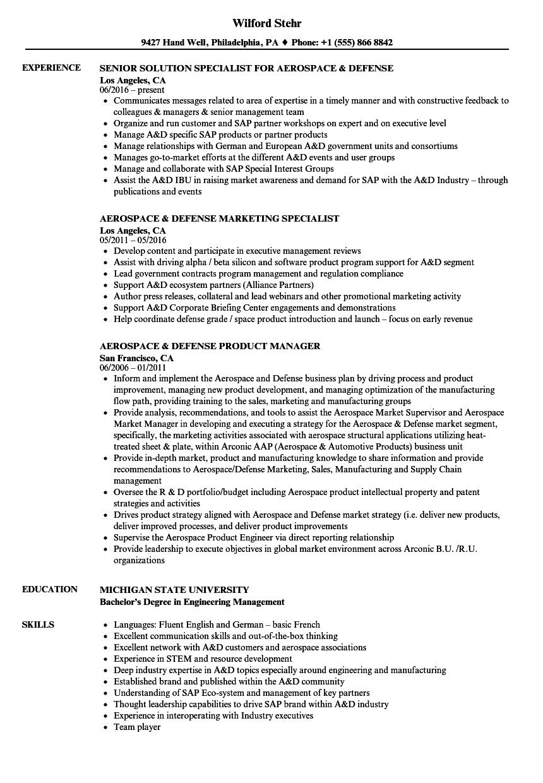 planner sample resume