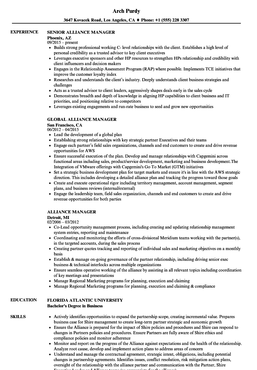 sample resume for knowledge manager