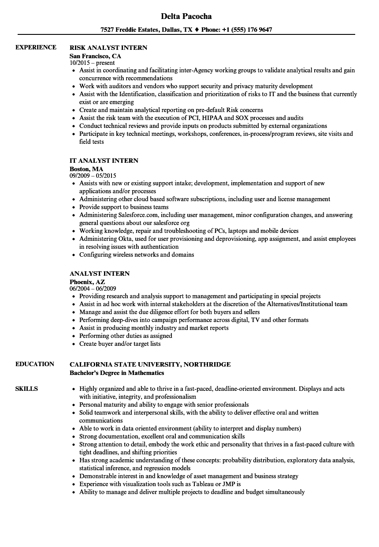 creative development intern resume sample
