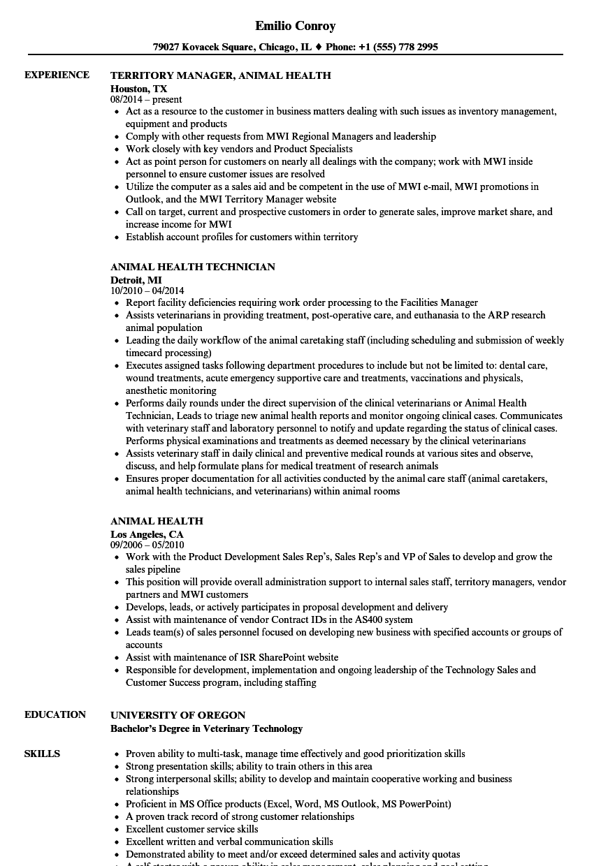 Certified Veterinary Technician Resume Example ] | Car Sales ...