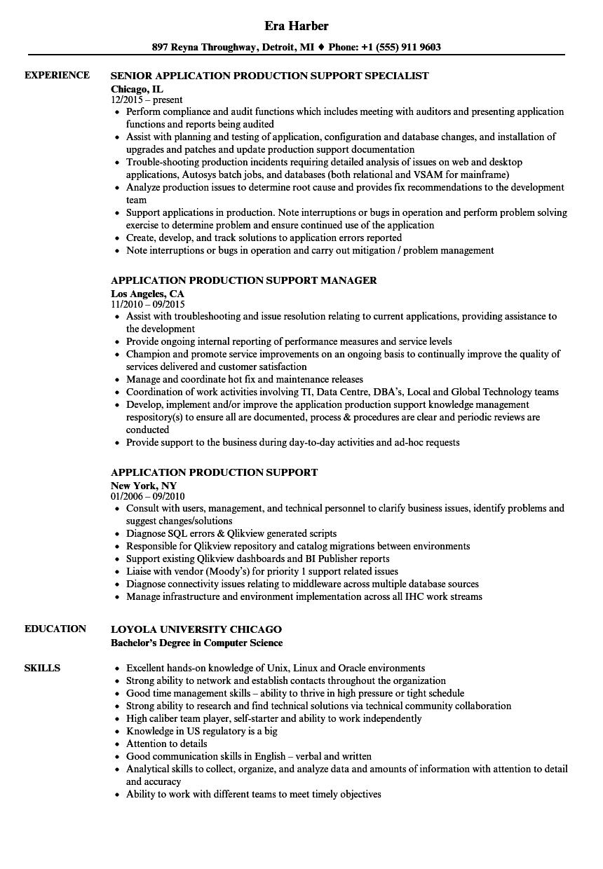 servicenow sample resumes