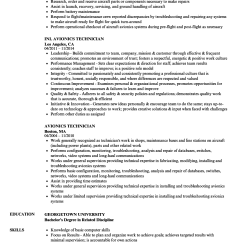 How To Read Avionics Wiring Diagrams Opel Astra F 1995 Diagram Technician Resume Samples Velvet Jobs Download Sample As Image File