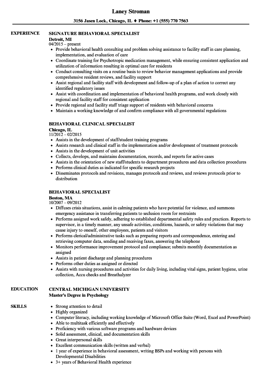health communication specialist resume example
