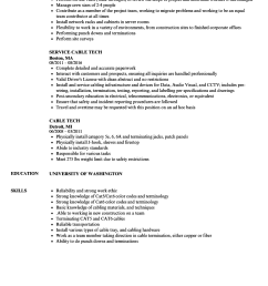 cable wire harness resume best wiring diagram cable wire harness resume [ 860 x 1240 Pixel ]