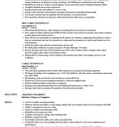cable technician resume samples velvet jobs rh velvetjobs com [ 860 x 1240 Pixel ]