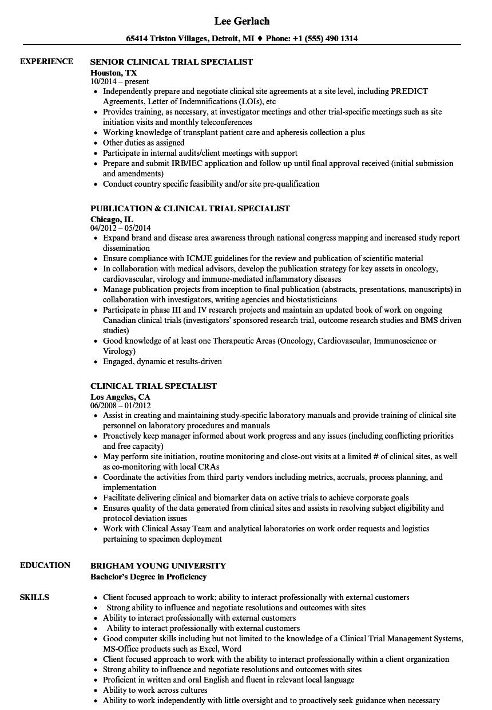 process improvement sample resume