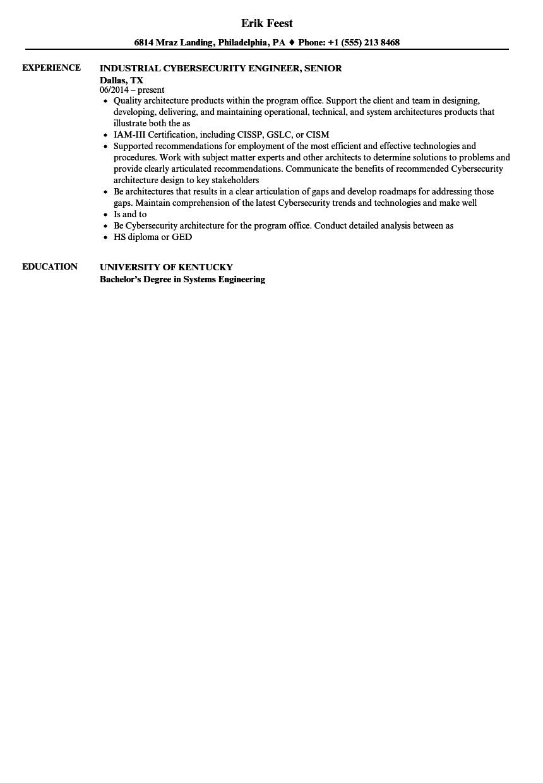 information security engineer resume samples