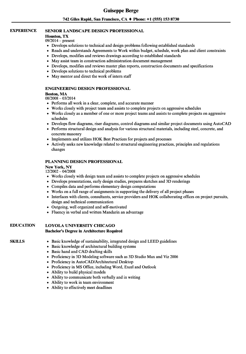 Gallery of Resume Format For Architecture Internship New ...