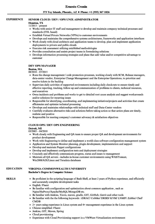 automation rest api resume sample